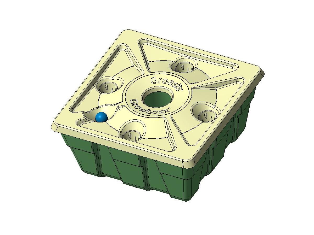 Biologisch afbreekbare Growboxx® plant cocoon
